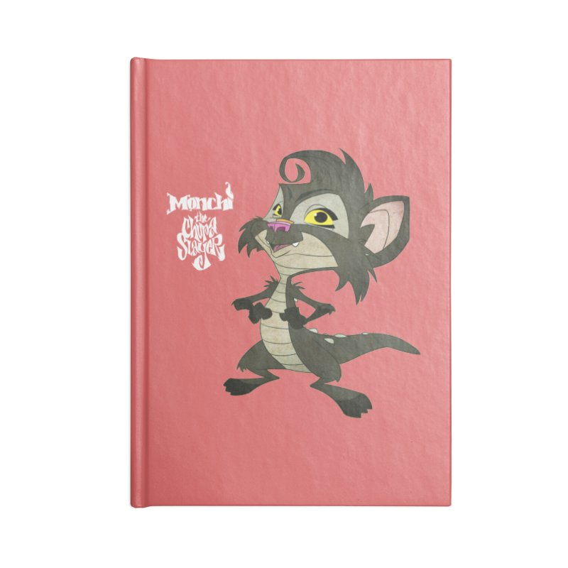 Monchi the Chupa Slayer Accessories Lined Journal Notebook by Dedos tees
