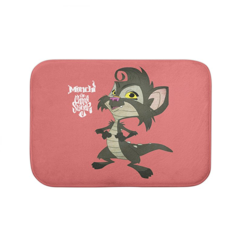 Monchi the Chupa Slayer Home Bath Mat by Dedos tees