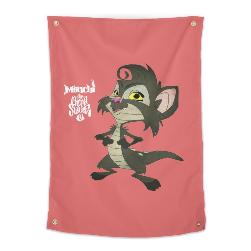 Monchi the Chupa Slayer Home Tapestry by Dedos tees