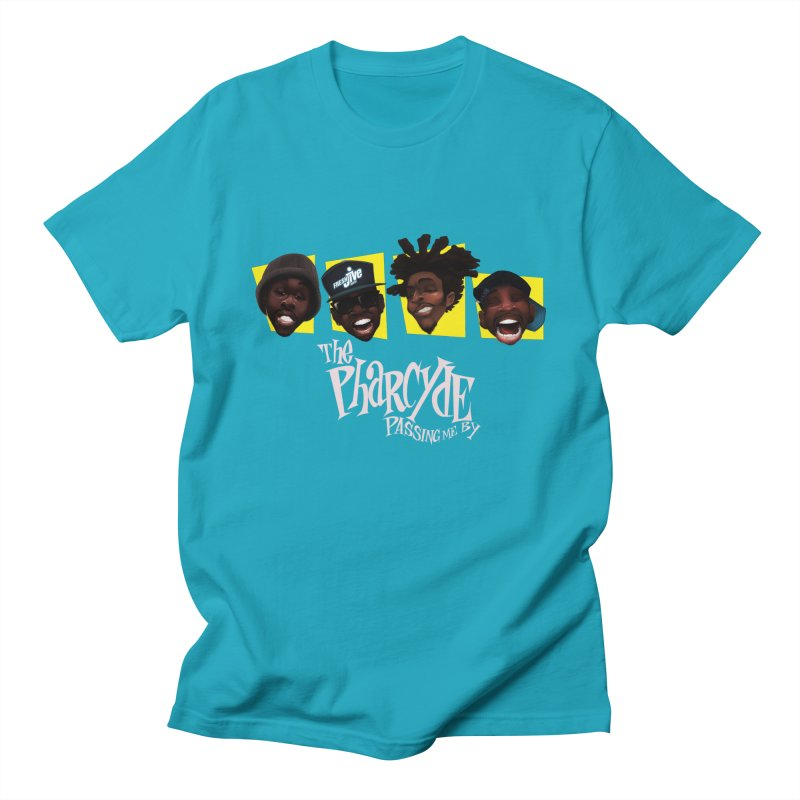 Passing me by in Men's T-Shirt Cyan by Dedos tees