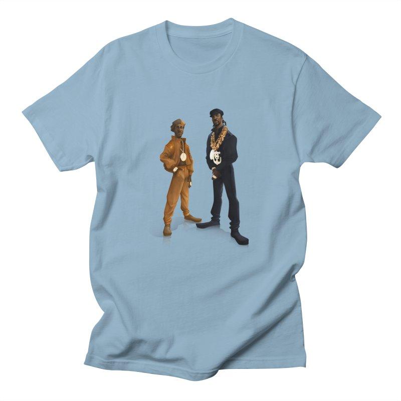 let the rhythm hit'em in Men's Regular T-Shirt Light Blue by Dedos tees