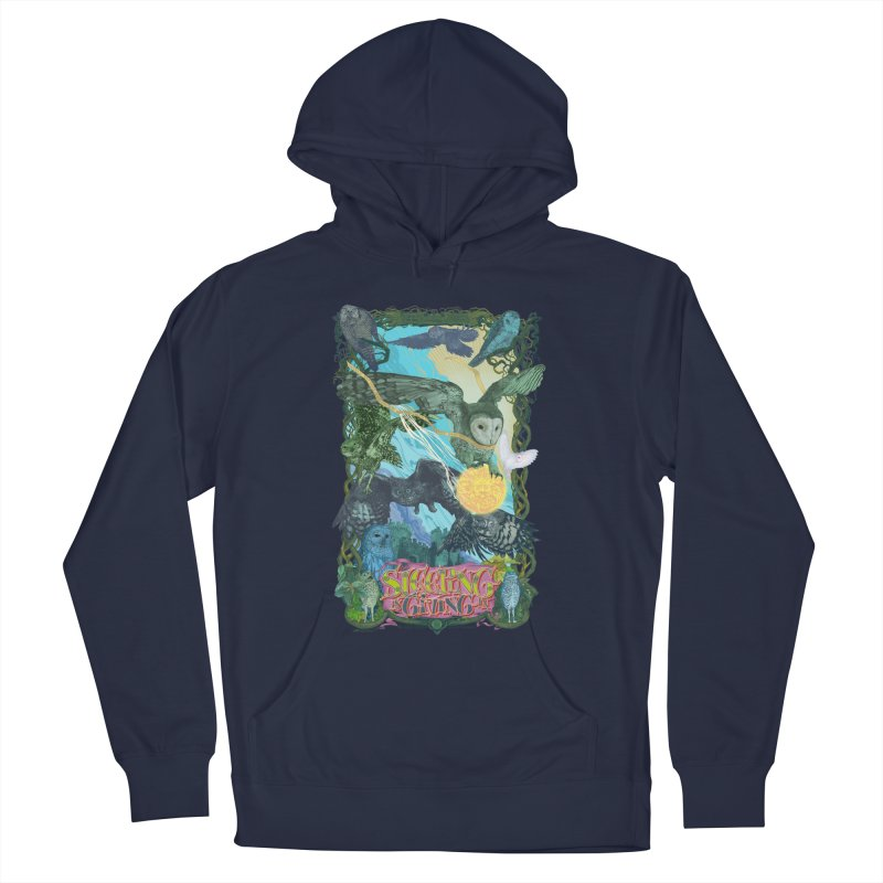 Sleepin' is Givin' in Men's Pullover Hoody by Dedos tees