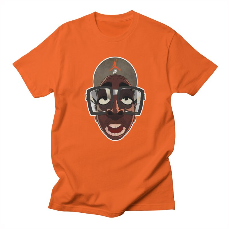 Mars syke color in Men's T-Shirt Orange Poppy by Dedos tees