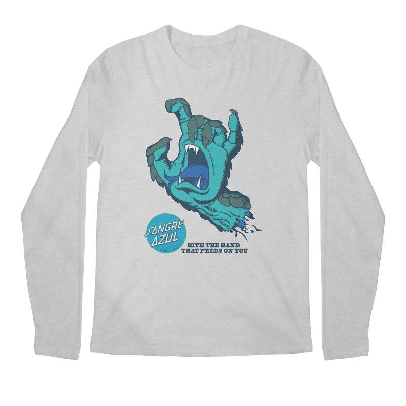 Sangre Azul Men's Longsleeve T-Shirt by Dedos tees