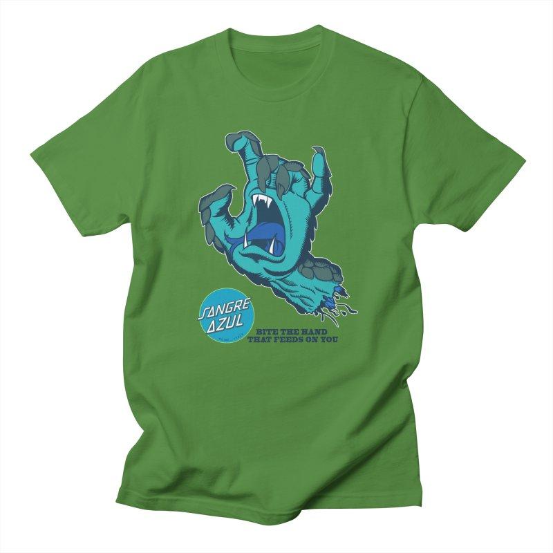 Sangre Azul Men's T-shirt by Dedos tees