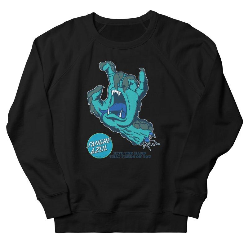 Sangre Azul Women's Sweatshirt by Dedos tees