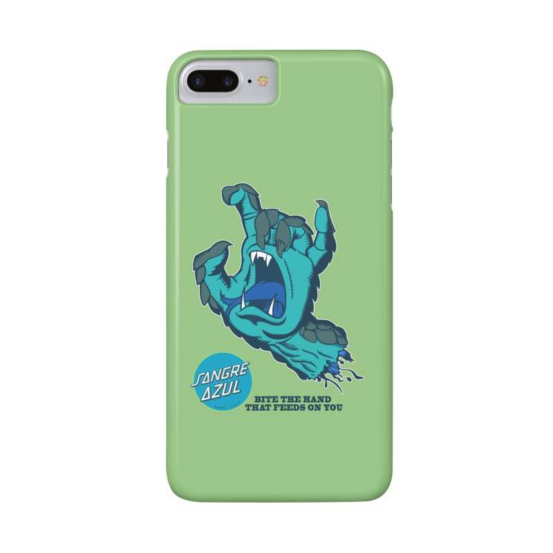 Sangre Azul Accessories Phone Case by Dedos tees