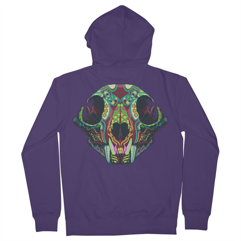 Sugar Lynx Women's Zip-Up Hoody by Dedos tees