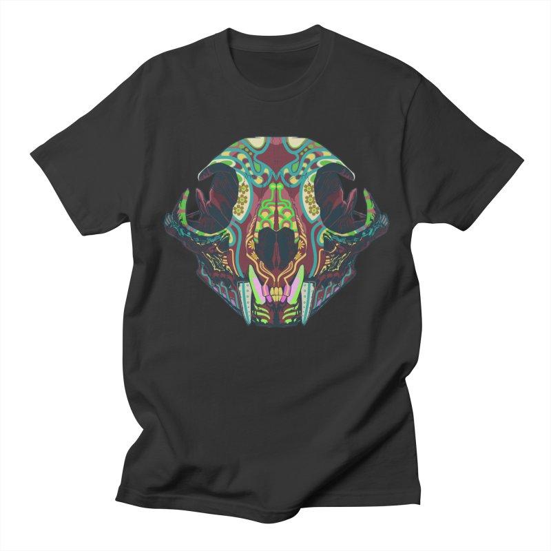 Sugar Lynx Men's T-shirt by Dedos tees