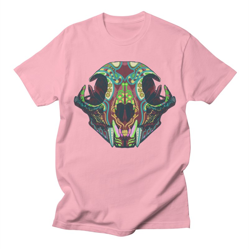 Sugar Lynx Women's Unisex T-Shirt by Dedos tees