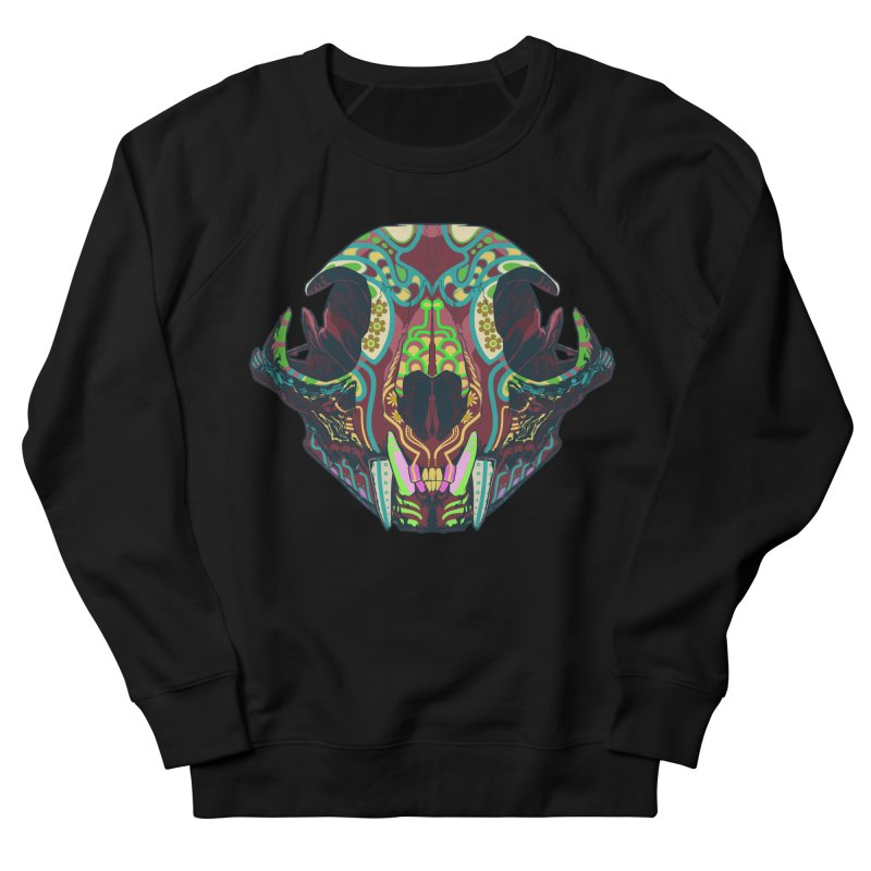 Sugar Lynx Women's Sweatshirt by Dedos tees