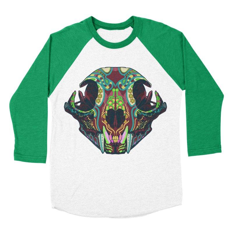 Sugar Lynx Women's Baseball Triblend T-Shirt by Dedos tees