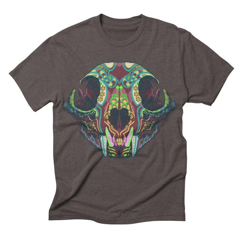 Sugar Lynx Men's Triblend T-shirt by Dedos tees