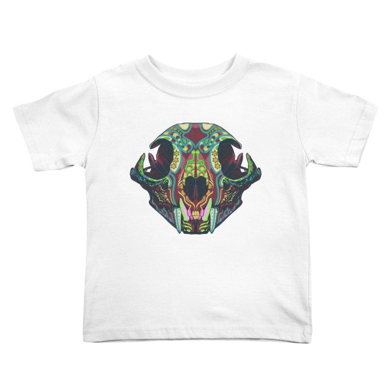 Sugar Lynx Kids Toddler T-Shirt by Dedos tees