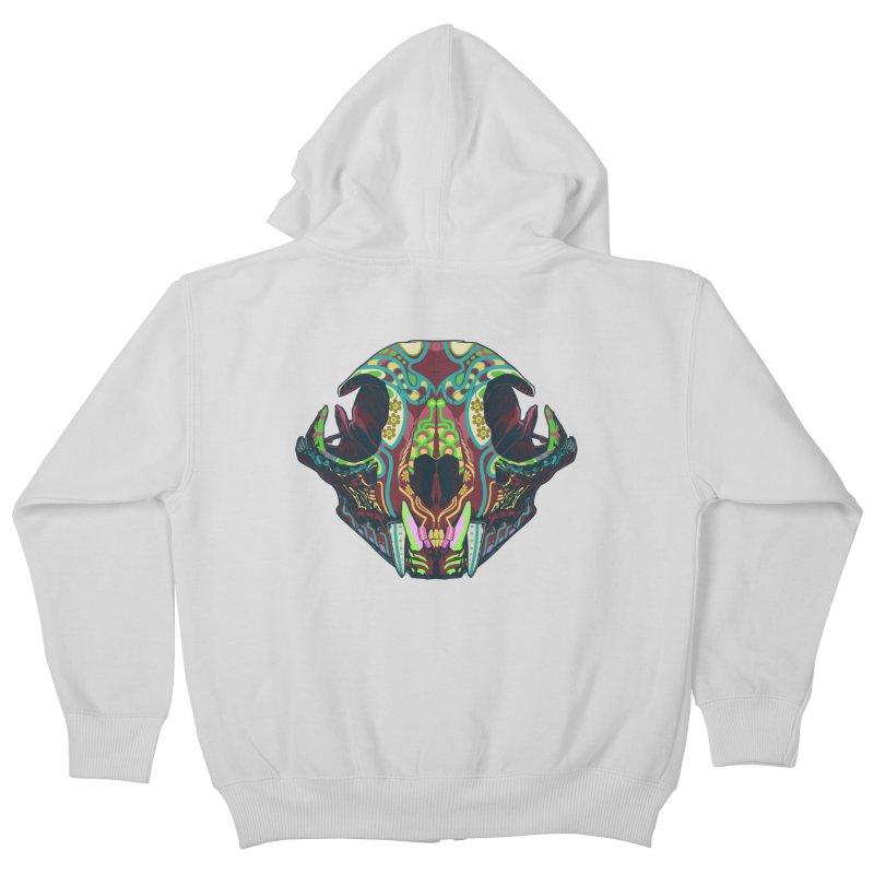 Sugar Lynx Kids Zip-Up Hoody by Dedos tees