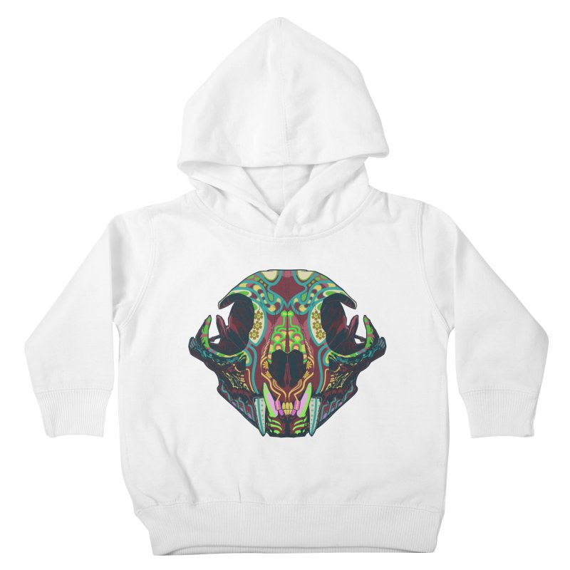 Sugar Lynx Kids Toddler Pullover Hoody by Dedos tees