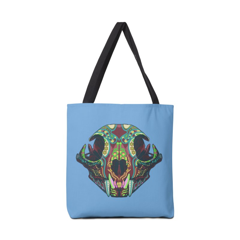 Sugar Lynx Accessories Bag by Dedos tees