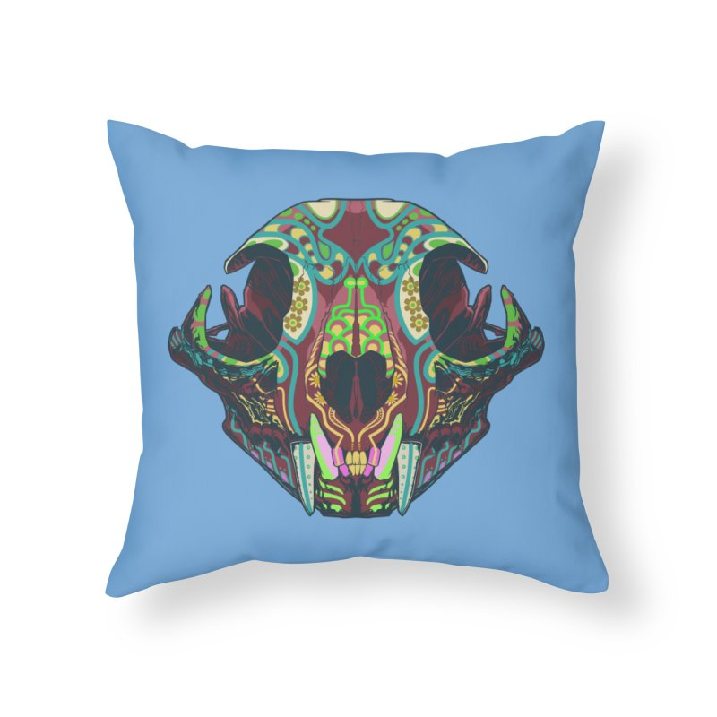 Sugar Lynx Home Throw Pillow by Dedos tees