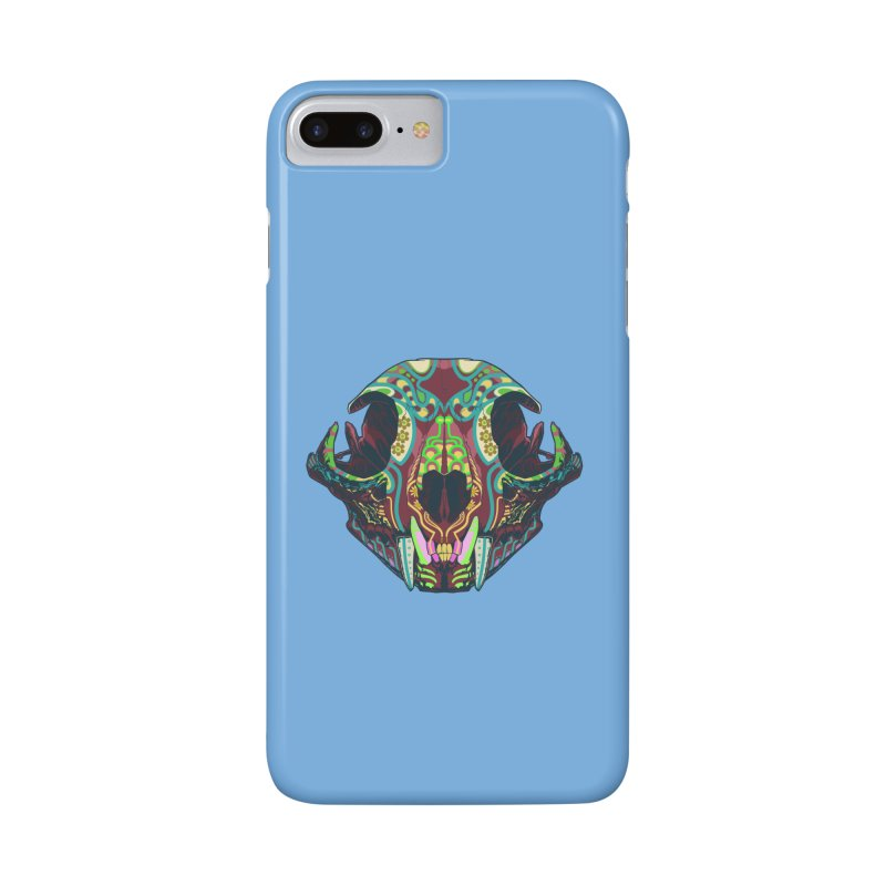 Sugar Lynx Accessories Phone Case by Dedos tees