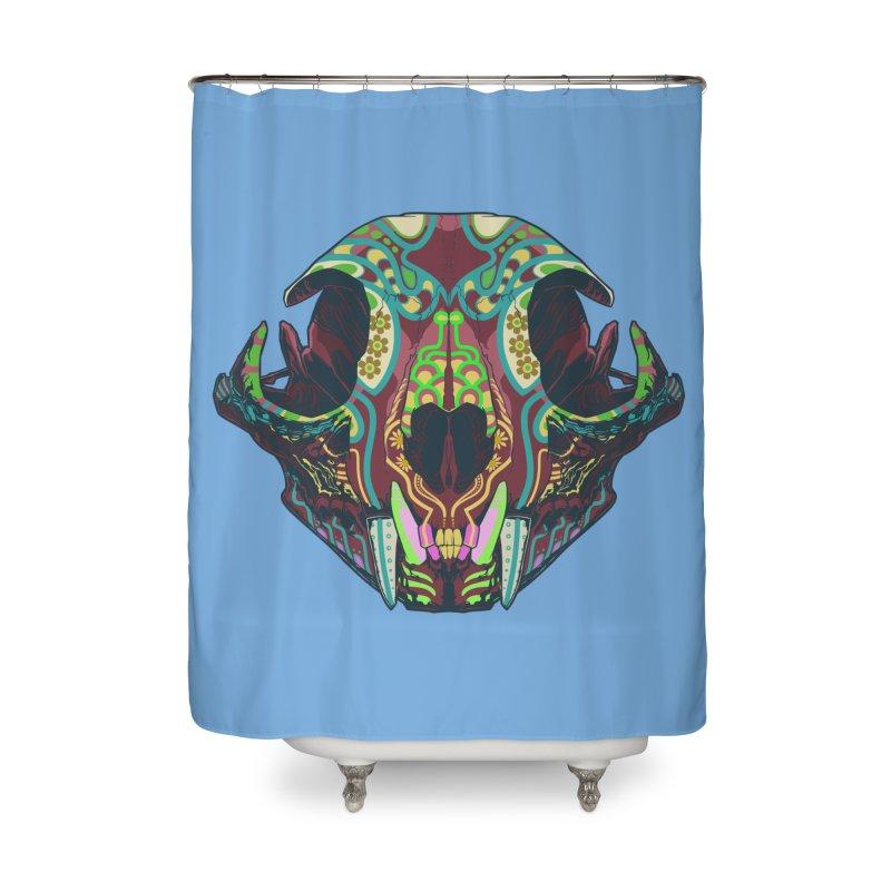 Sugar Lynx Home Shower Curtain by Dedos tees