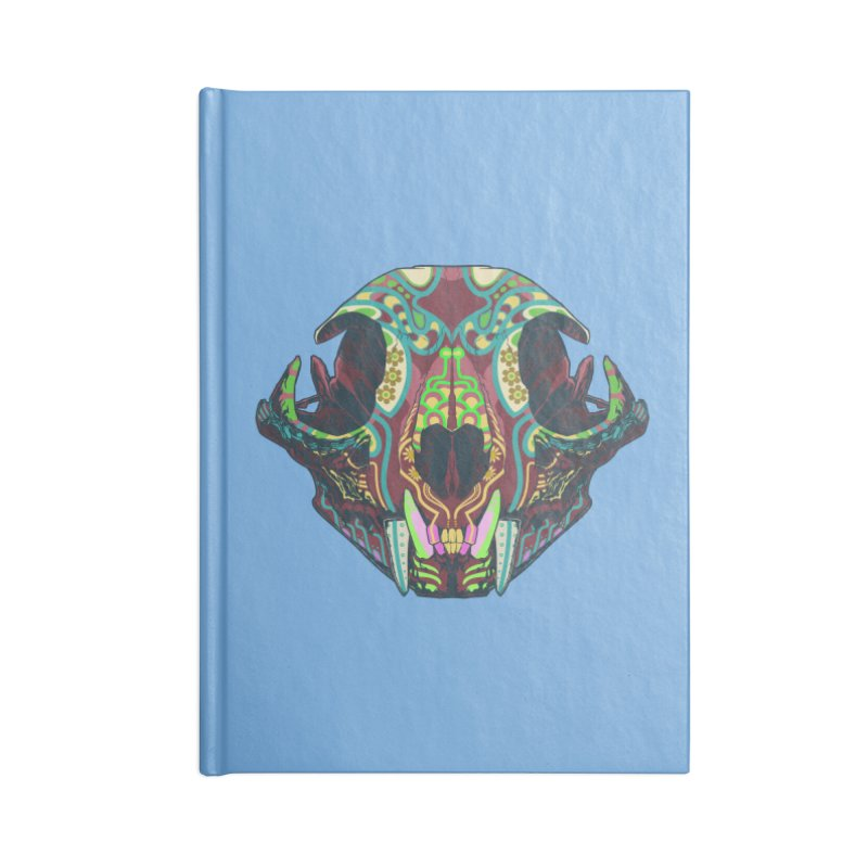 Sugar Lynx Accessories Notebook by Dedos tees