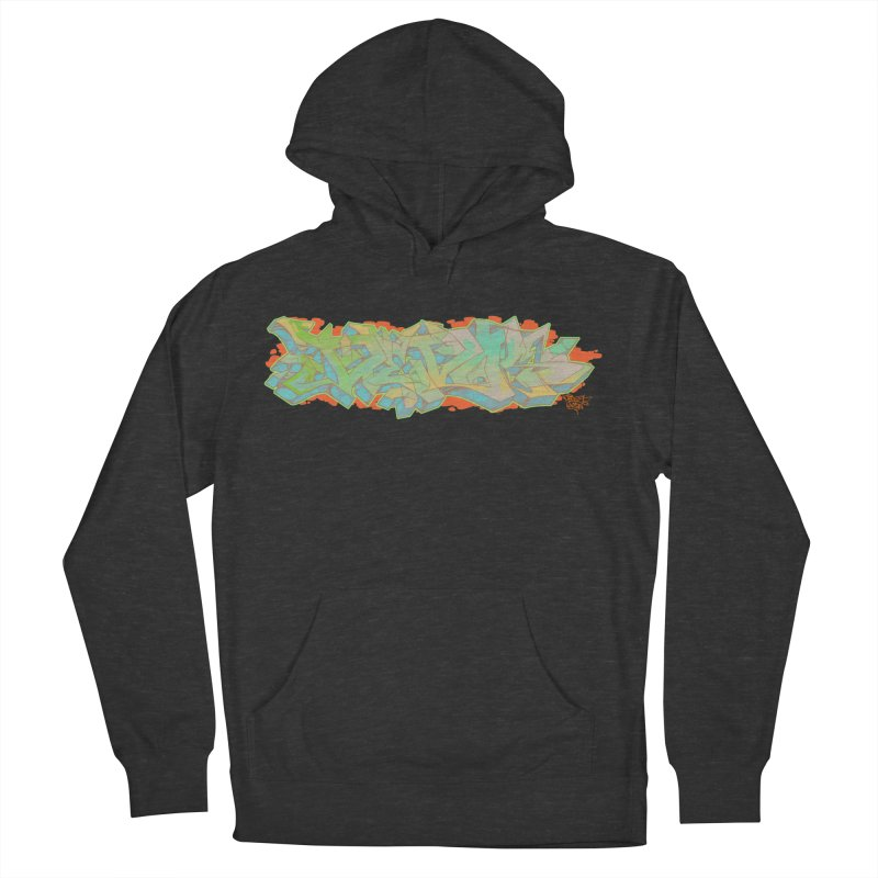 Dedos Graffiti letters 5 Men's Pullover Hoody by Dedos tees
