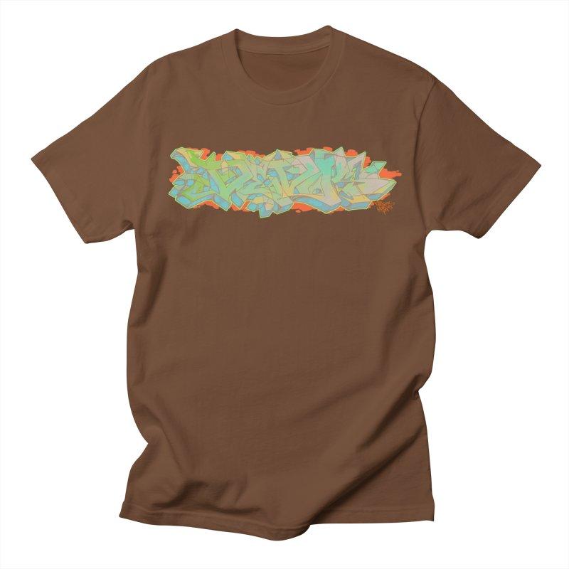 Dedos Graffiti letters 5 Men's T-shirt by Dedos tees