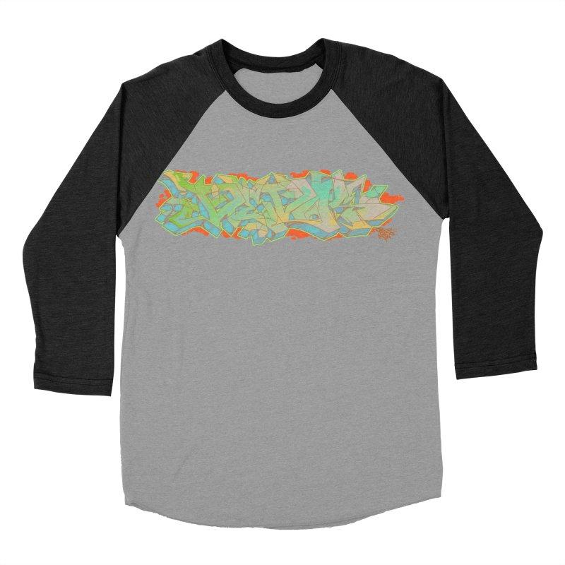 Dedos Graffiti letters 5 Women's Baseball Triblend T-Shirt by Dedos tees