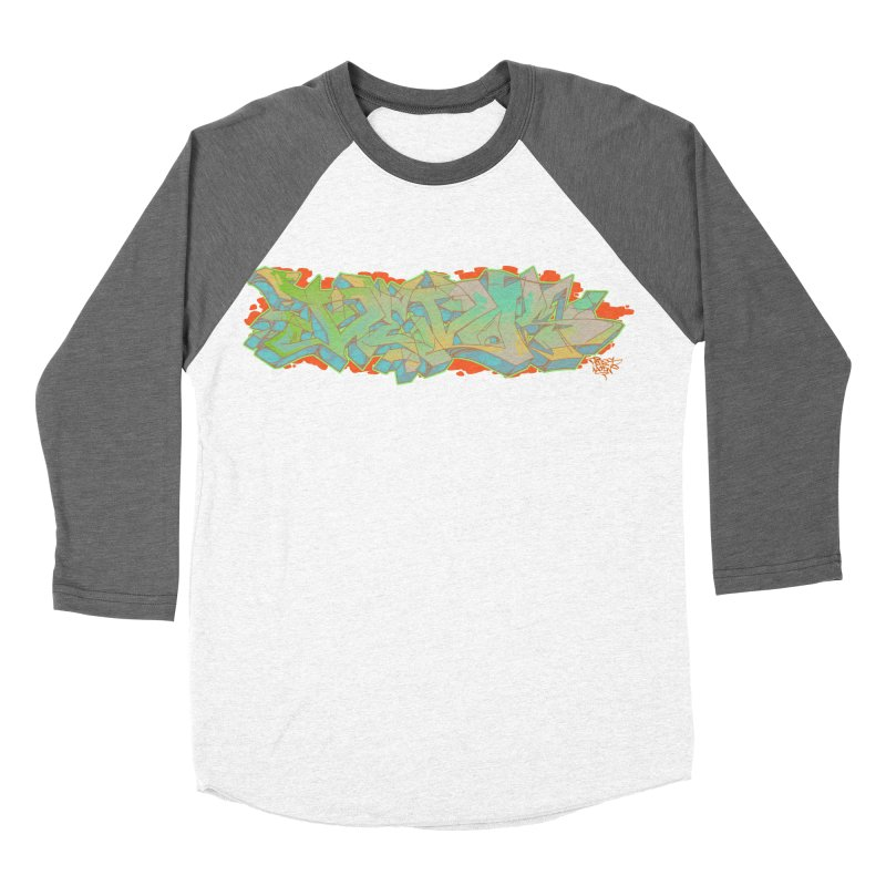 Dedos Graffiti letters 5 Men's Baseball Triblend T-Shirt by Dedos tees