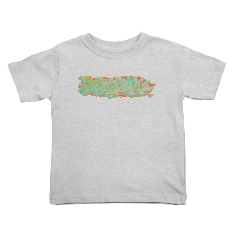Dedos Graffiti letters 5 Kids Toddler T-Shirt by Dedos tees