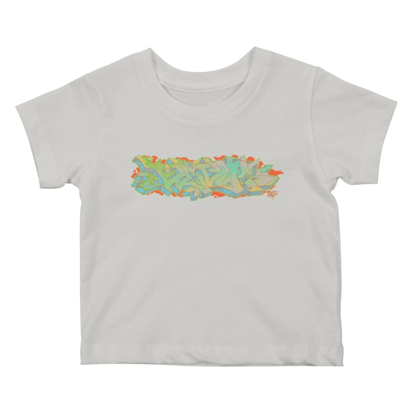 Dedos Graffiti letters 5 Kids Baby T-Shirt by Dedos tees
