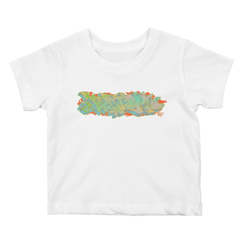 Dedos Graffiti letters 5 Kids Baby T-Shirt by Dedos tees