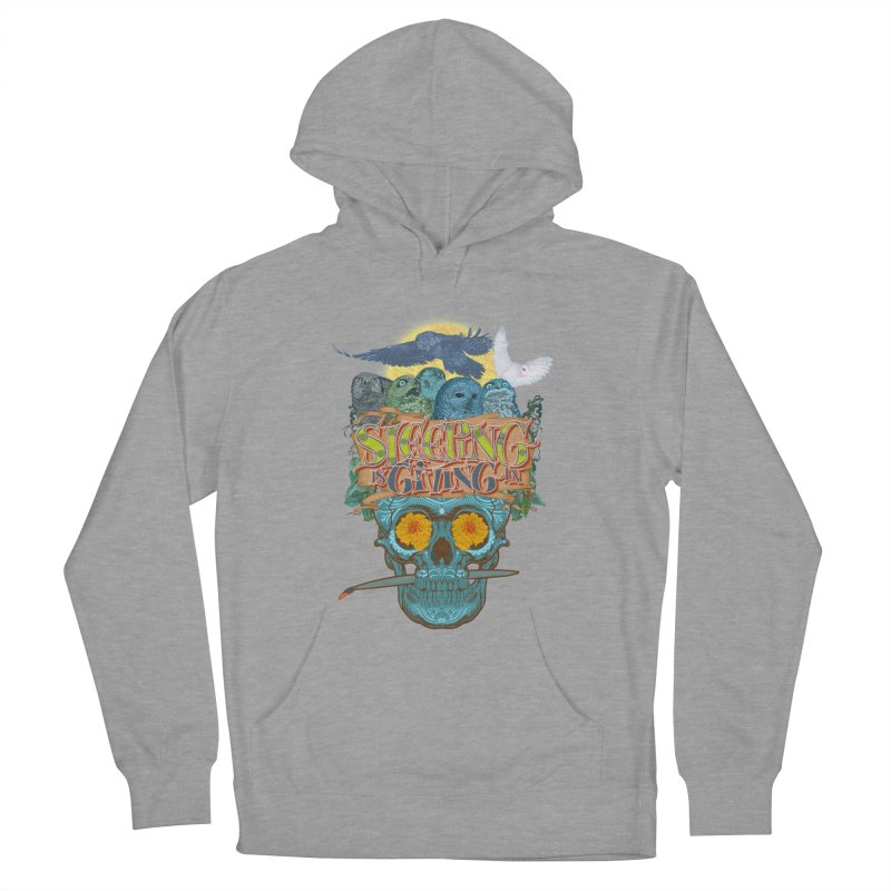 Sleepin' is givin' in 2  Women's French Terry Pullover Hoody by Dedos tees