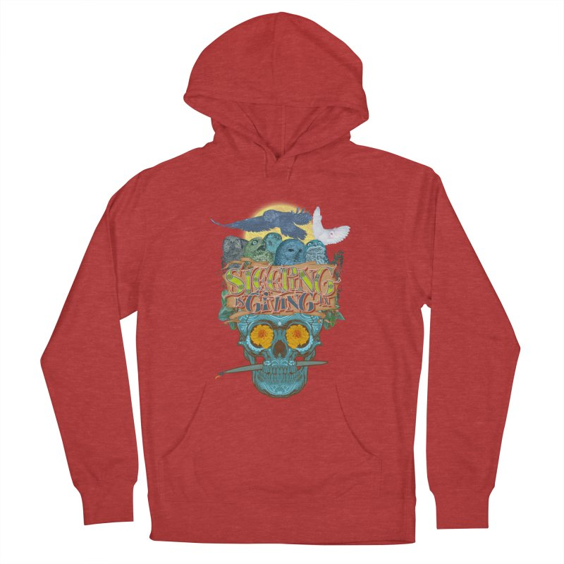 Sleepin' is givin' in 2  Men's French Terry Pullover Hoody by Dedos tees