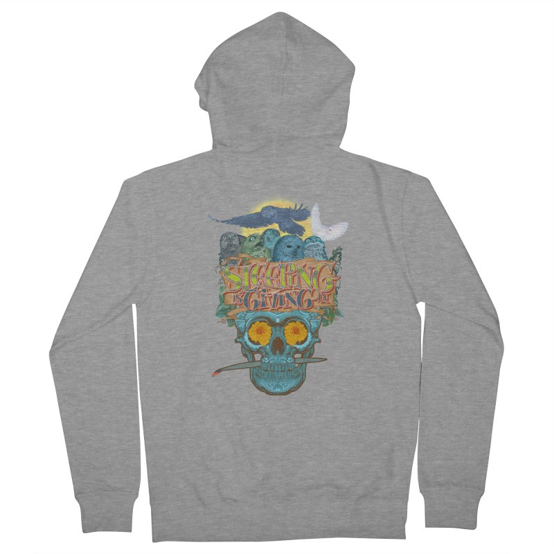 Sleepin' is givin' in 2  Women's Zip-Up Hoody by Dedos tees