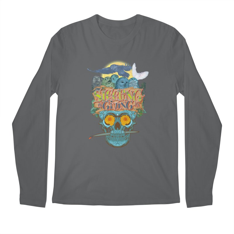 Sleepin' is givin' in 2  Men's Longsleeve T-Shirt by Dedos tees