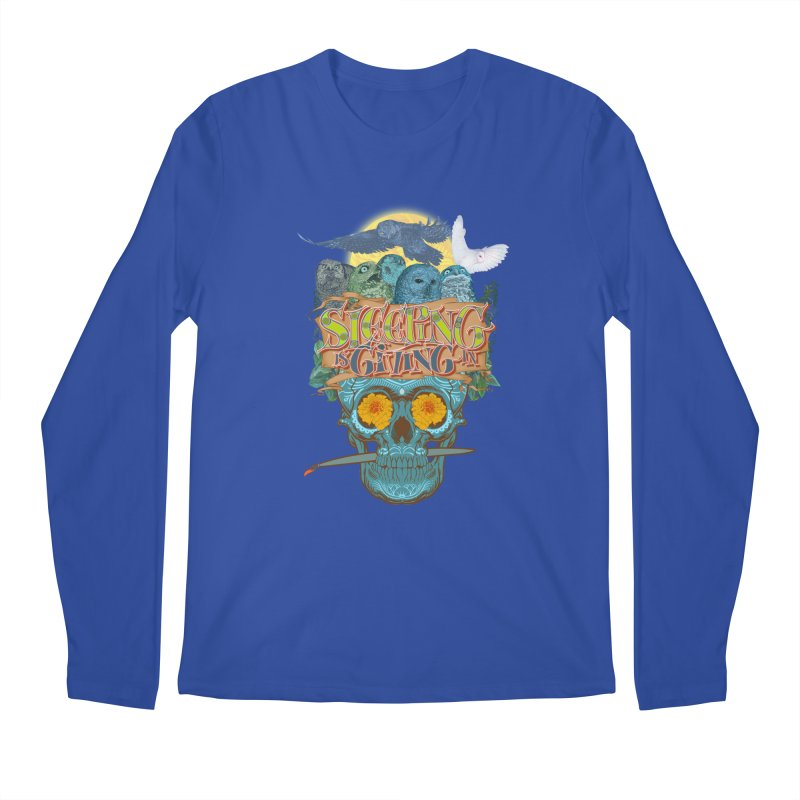 Sleepin' is givin' in 2  Men's Longsleeve T-Shirt by Dedos tees