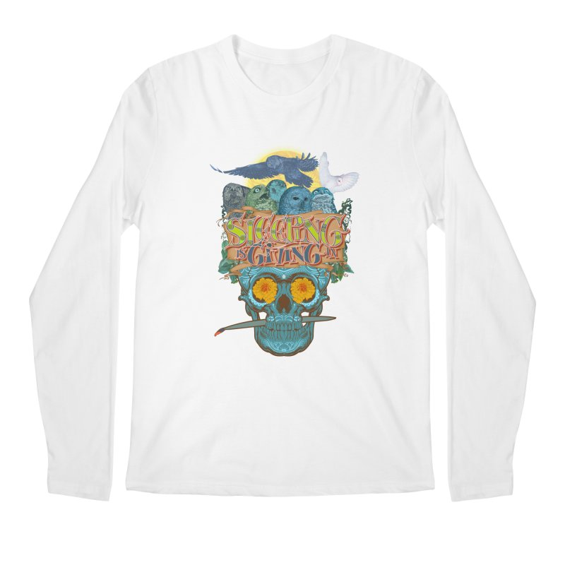 Sleepin' is givin' in 2  Men's Regular Longsleeve T-Shirt by Dedos tees