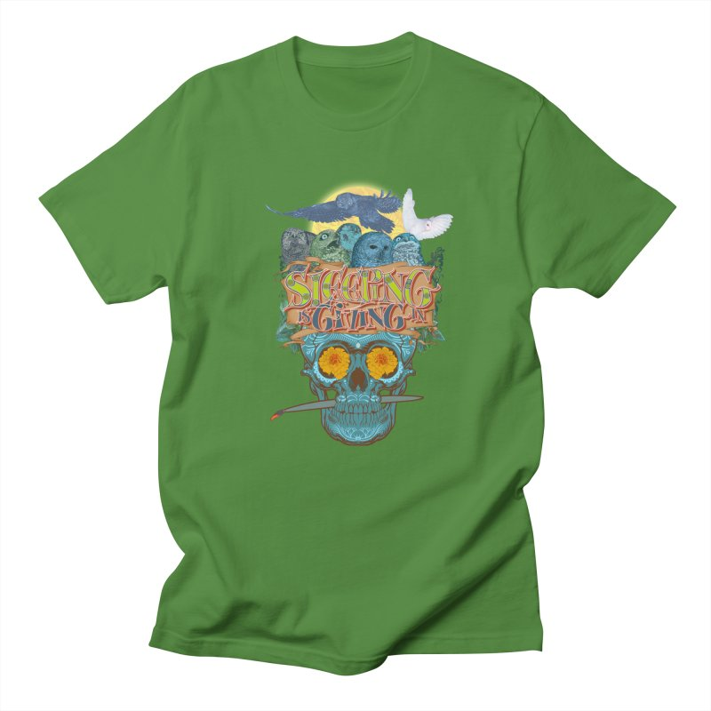 Sleepin' is givin' in 2  Men's T-Shirt by Dedos tees