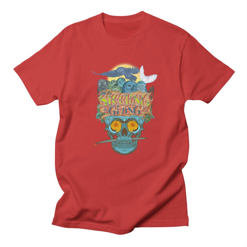 Sleepin' is givin' in 2  Men's T-Shirt by Dedos tees