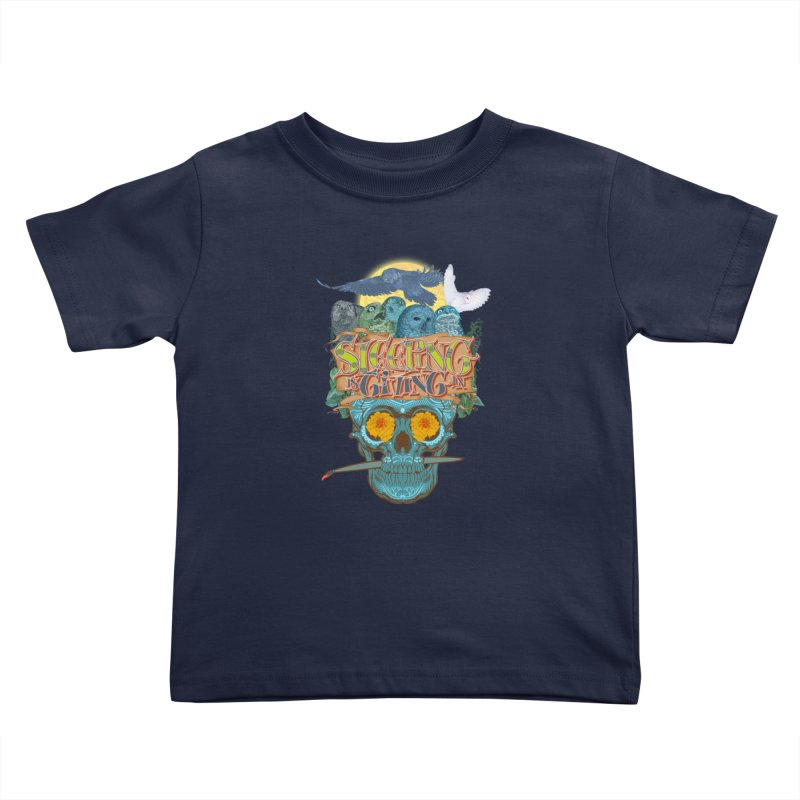Sleepin' is givin' in 2  Kids Toddler T-Shirt by Dedos tees
