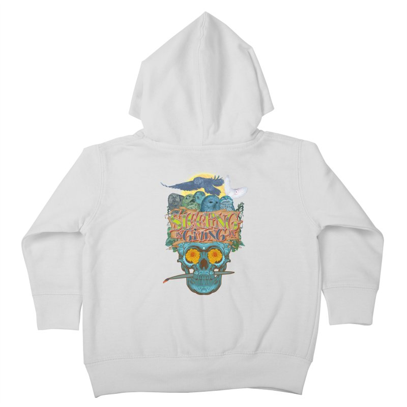 Sleepin' is givin' in 2  Kids Toddler Zip-Up Hoody by Dedos tees