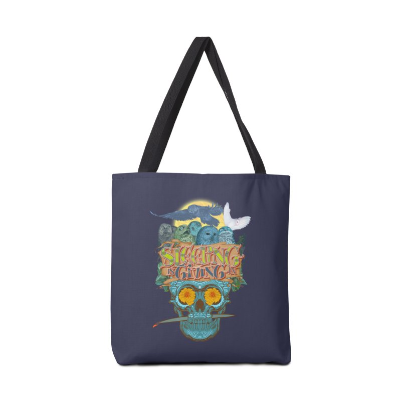 Sleepin' is givin' in 2  Accessories Bag by Dedos tees