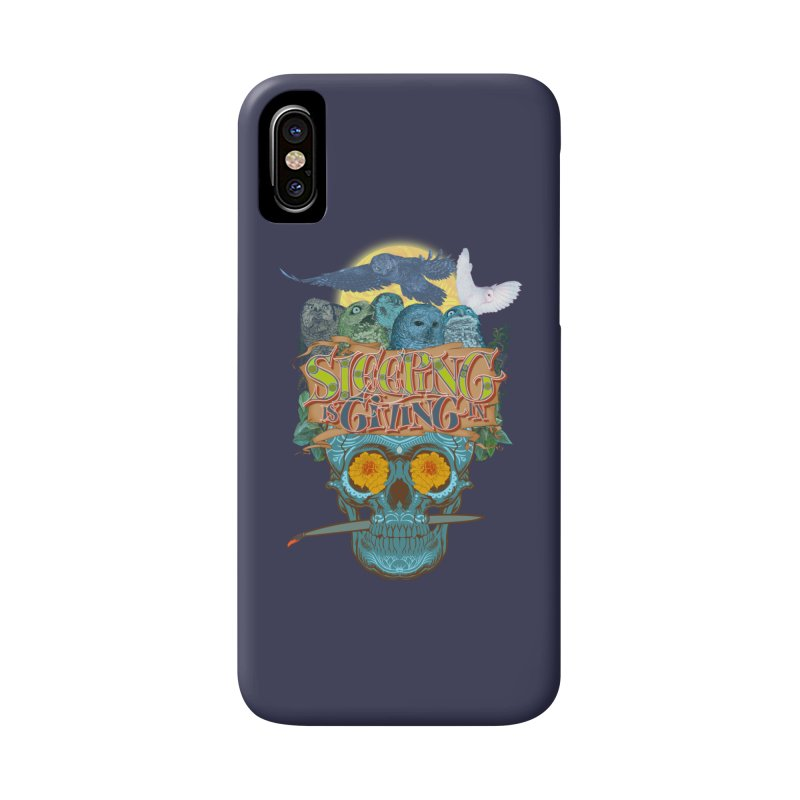 Sleepin' is givin' in 2  Accessories Phone Case by Dedos tees
