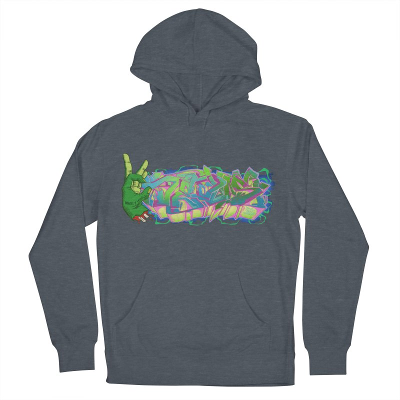 Dedos Graffiti letters 2 Women's Pullover Hoody by Dedos tees