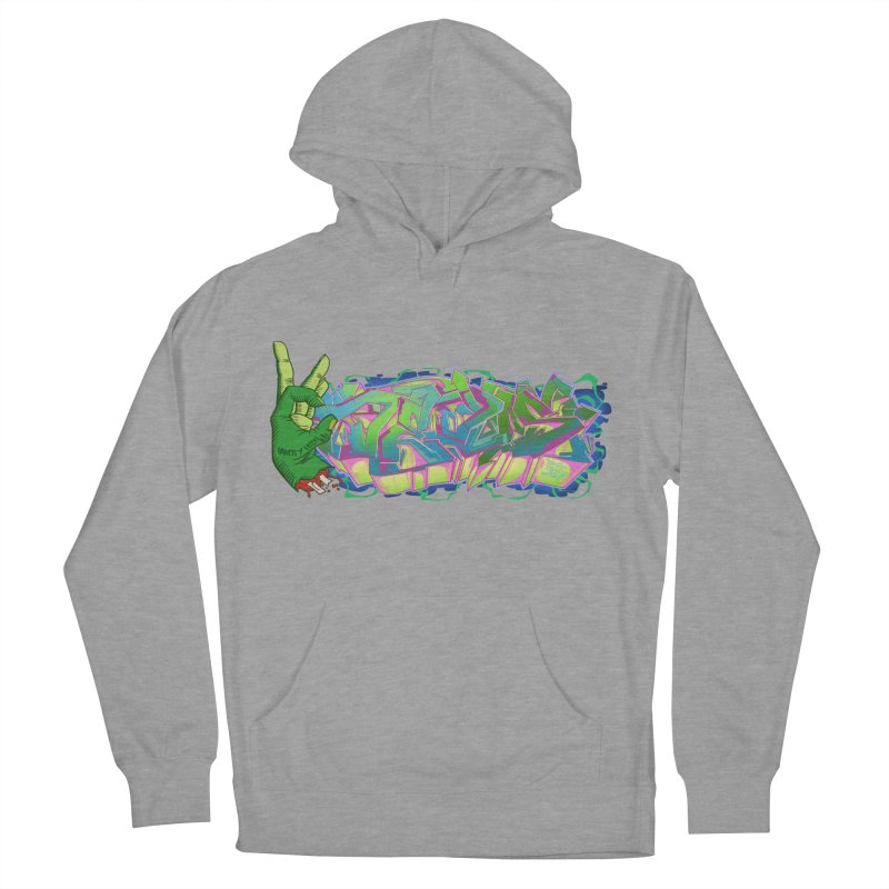 Dedos Graffiti letters 2 Men's French Terry Pullover Hoody by Dedos tees
