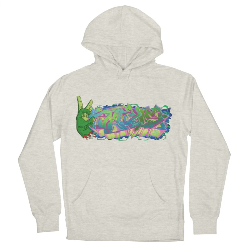 Dedos Graffiti letters 2 Men's Pullover Hoody by Dedos tees
