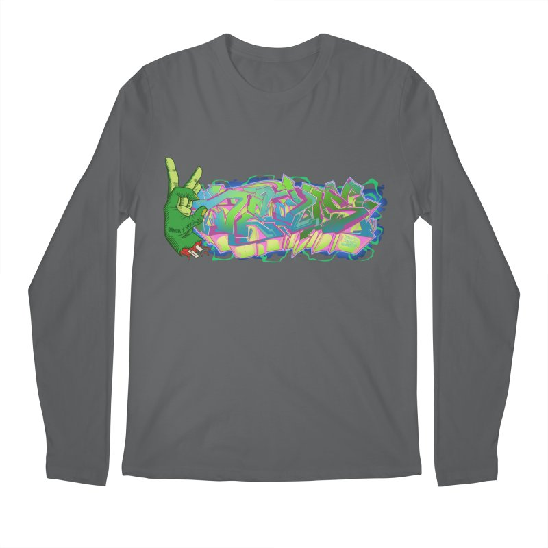 Dedos Graffiti letters 2 Men's Regular Longsleeve T-Shirt by Dedos tees