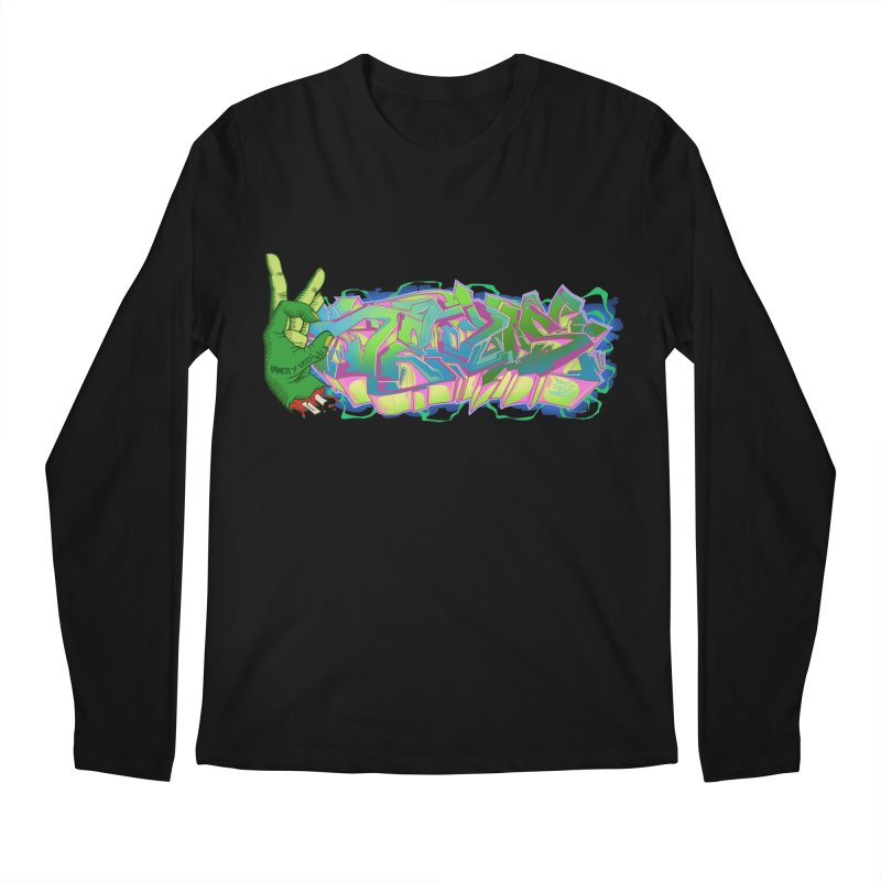 Dedos Graffiti letters 2 Men's Longsleeve T-Shirt by Dedos tees