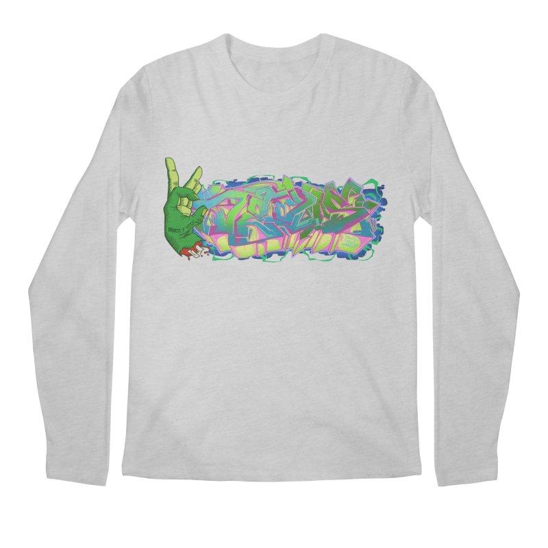 Dedos Graffiti letters 2 Men's Regular Longsleeve T-Shirt by Dedos tees